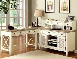 white corner office desk. Rustic Corner Desk Sectional With White Shutter Doors Plus Drawers Oak Office
