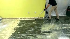 how to remove carpet glued to concrete floor remove glue from concrete floor how to remove