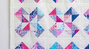 Star Cakes Quilt Pattern - free with a video tutorial from Fat ... & For this quilt I needed 1 print layer cake (I used Paradiso by Kate Spain  for Moda), ... Adamdwight.com