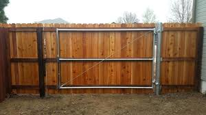 picture frame fence metal gate frame for wood fence designs how to build a picture frame