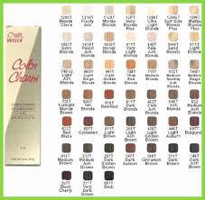 40 New Wella Color Chart Pdf Home Furniture