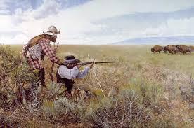 craig tennant printsmountain man buffalo hunter paintings