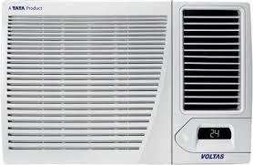 air conditioning window. voltas 1.5 ton 3 star window ac - white air conditioning r
