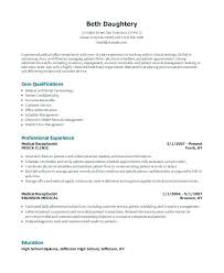Sample Resume For Medical Office Assistant Custom Business Administration Resume Skills Examples Executive Assistant