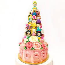 Royal Princess Macaron Tower Cake Collections Creme Maison