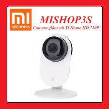 Camera giám sát IP Xiaomi Yi Home HD 720P - Bản Quốc Tế - Đàm thoại 2 chiều  - Hồng ngoại ban đêm