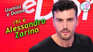 Alessandro Zarino: Chi è il Nuovo Tronista di Uomini e Donne ...