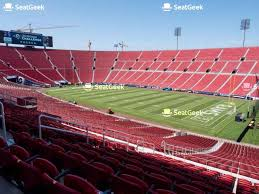 Usc Coliseum Seating Chart Your Ticket To Sports Concerts More Seatgeek
