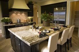 absolute cream granite countertop and travertine back splashes contemporary kitchen philadelphia