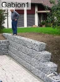 garden gabion retaining wall ideal diy