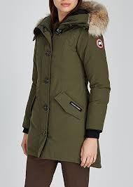 Canada Goose Rossclair Fusion Fit Fur Trimmed Parka Harvey