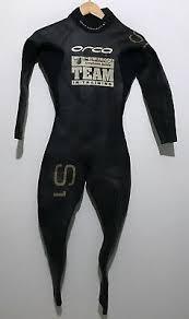 Orca Mens Triathlon Full Wetsuit S1 Speedsuit Size 5