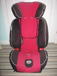 spare care seat cover for britax evolva 123 car seat red