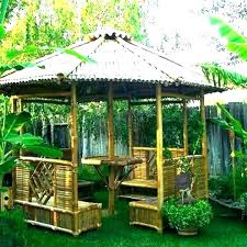 outdoor gazebo bar ideas grill plans simple for backyard wood canopy patio good
