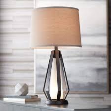 Joseph Metal Table Lamp With Led Night Light Amazoncom