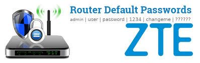Silahkan ubah password wifi kamu. Zte Default Usernames And Passwords Updated May 2021 Routerreset