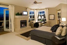 Master Bedroom Fireplace Property