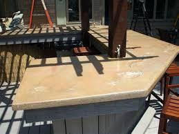 how do you make concrete countertops concrete poured in place concrete countertop forms menards concrete countertop sealer