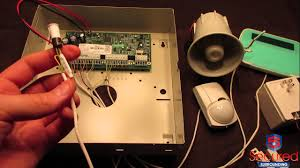dsc security alarm system basic install and wiring walk through