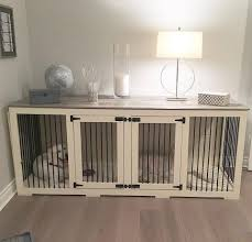 dog crates as furniture. Bench Dog Crate Furniture In Splendid Kennel Bench: Full Size Crates As I