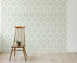 Moroccan Wall Stencil Floral style Scandinavian Large Stencil Design DIY  Wallpaper Look Easy Home Decor