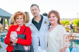 Vicky Walters with Chris Stubstad and Wendy Walters