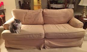 quatrine custom furniture. Quatrine Sofa Before Slipcover Makeover Quatrine Custom Furniture O