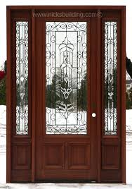 old wood entry doors for sale. antique cherry stained solid wood entry door- with beautiful iron classic glass design- bought old doors for sale