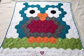 Crochet Owl Blanket Pattern