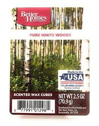 better homes and gardens scented wax cubes. Beautiful Gardens Better Homes And Gardens Scented Wax Melts  PURE WHITE WOODS Scent In And Cubes E