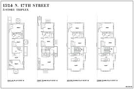 plans row house floor plans beautiful historic design of luxury and brownstone