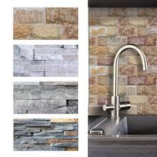 9pcs 20x10cm brick stone imitation