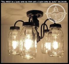 mason jar ceiling lights mason jar flush mount 5 light ceiling new quarts 6 mason jar mason jar ceiling lights
