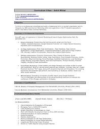 Gmail Resume Mesmerizing Ankit SEO Resume