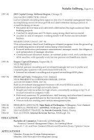 Venture Capital Resume Sample Venture Capital Resume Sample New