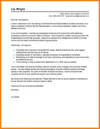 Gallery Of Customer Service Representative Cover Letter Examples