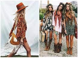 Лёгкие платья с затейливыми узорами, кимоно с бахромой, летние замшевые сапоги, льняное кружево, бисер и вышивка. Kak Odetsya V Stile Boho 10 Must Have Atributov Tochka Net