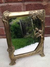 as rhhashookcom oval ed stained dressing varnished wooden rhmadedecorcom oval vintage vanity mirror on stand ed