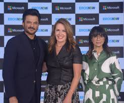"Peggy Johnson on Twitter: ""His talent as an actor is matched only by his  charm as a moderator. Thanks to @AnilKapoor for hosting a lively discussion  between myself and @rls8887 on the"