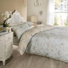 vantona rosa fl design duvet cover set blue