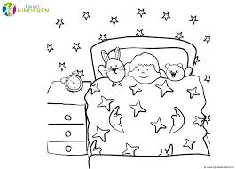 Afbeeldingsresultaat Voor Kleurplaat Slapen Gaan Sleep In Sleep