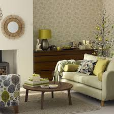 Olive Green Christmas Living Room Decorating Housetohome Co Uk Dark Green  And Brown Living Room Ideas