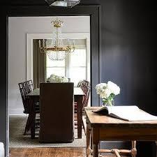 brass paris flea market chandelier with wood dining table