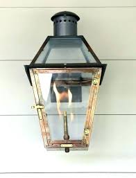french quarter gas lanterns with regard to best images on how clean electric lights museum wedding