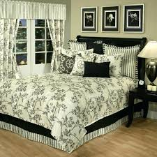 gallery of black and cream toile bedding luxury french country full prim clean gorgeous queen briliant 3