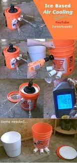 ac bucket air coolers homemade