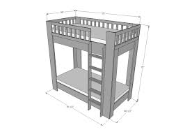 Plans For A Loft Bed Bunk Beds Plans To Build Bunk Beds With Stairs How To Build Bunk