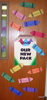 Image Bulletin Board Welcome Nest From Kindergarten Kronicles Back To School Door Decorations The Classroom Creative Back To School Wreaths And Door Decorations