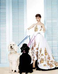 Sabrina Audrey Hepburn (Wearing ...
