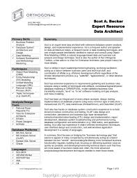Simple Best Business Resume Template Business Analysis Resume Free